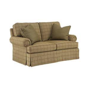 Henredon Fireside Upholstery Customizable Loveseat