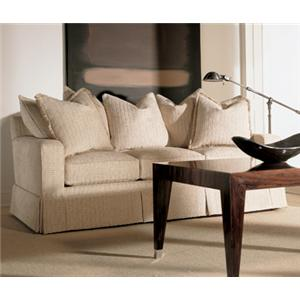 Fireside Upholstery Customizable Sofa with Track Arms and Multi Pillow Back by Henredon
