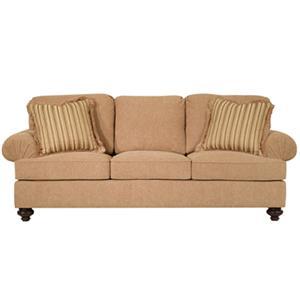 Henredon Henredon Upholstery Fireside Custom Upholstered Sofa