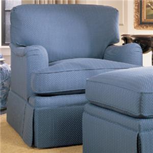 Henredon Henredon Upholstery Fireside Custom Upholstered Chair