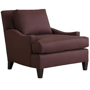 Henredon Henredon Upholstery Leslie Upholstered Chair with T Seat Cushion
