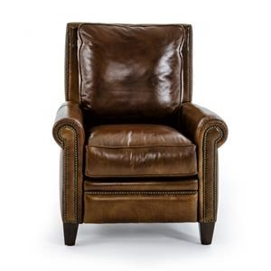 Henredon Lugano Power High Leg Recliner