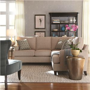 HGTV Home Furniture Collection Park Avenue 2 Piece Sectional