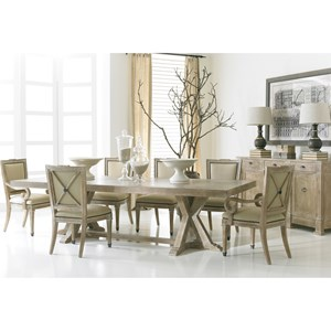Urban Loft Collection Dining Room Group by Hickory White