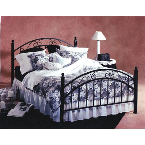 Hillsdale Metal Beds Willow Full Metal Bed - Item Number: 01140+BB24