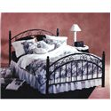 Hillsdale Metal Beds King Metal Bed - Item Number: 01142+BB44