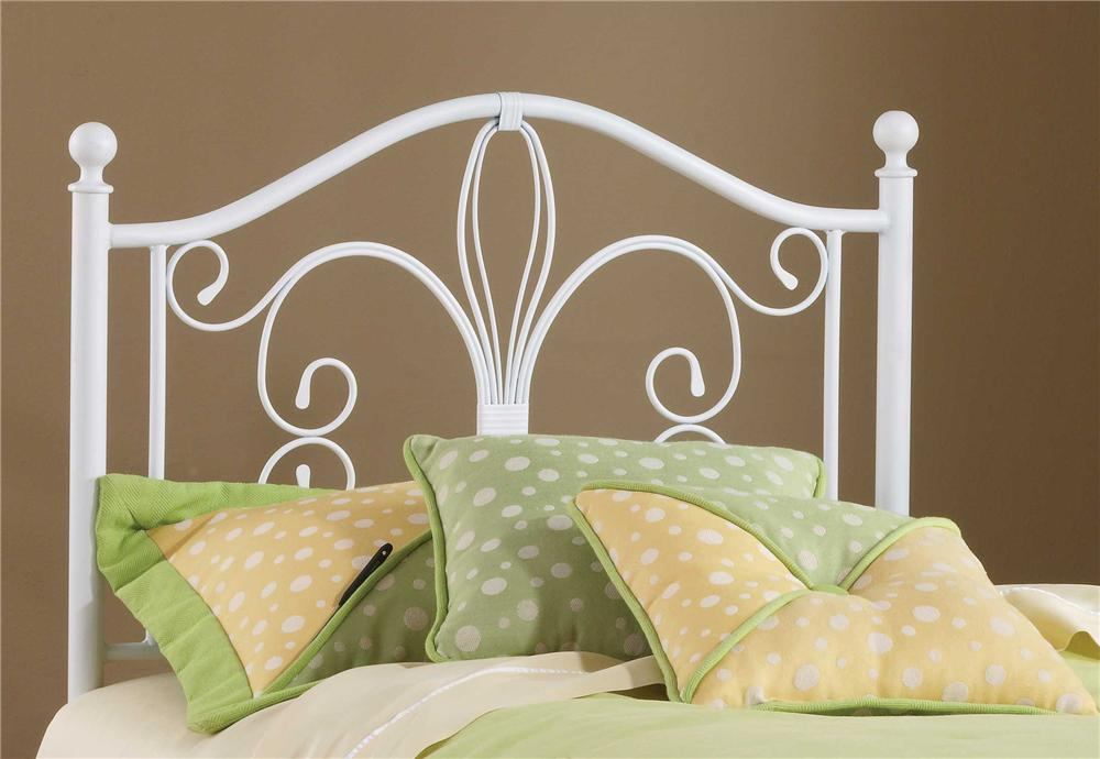 Hillsdale Metal Beds Rosey Twin Headboard - Item Number: 1687-340