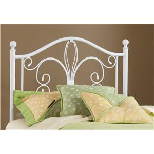 Hillsdale Metal Beds Rosey Twin Headboard