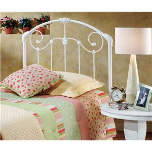 Hillsdale Metal Beds Mia Twin Headboard