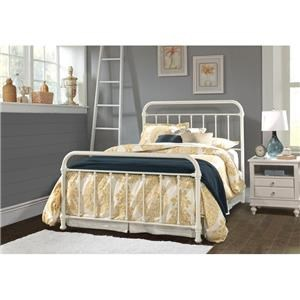 Hillsdale 1799 Kirkland Queen Metal Bed