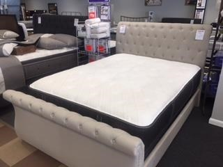 Queen Upholstered Sleigh Bed