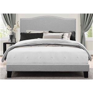 Hillsdale 2011 King Upholstered Bed
