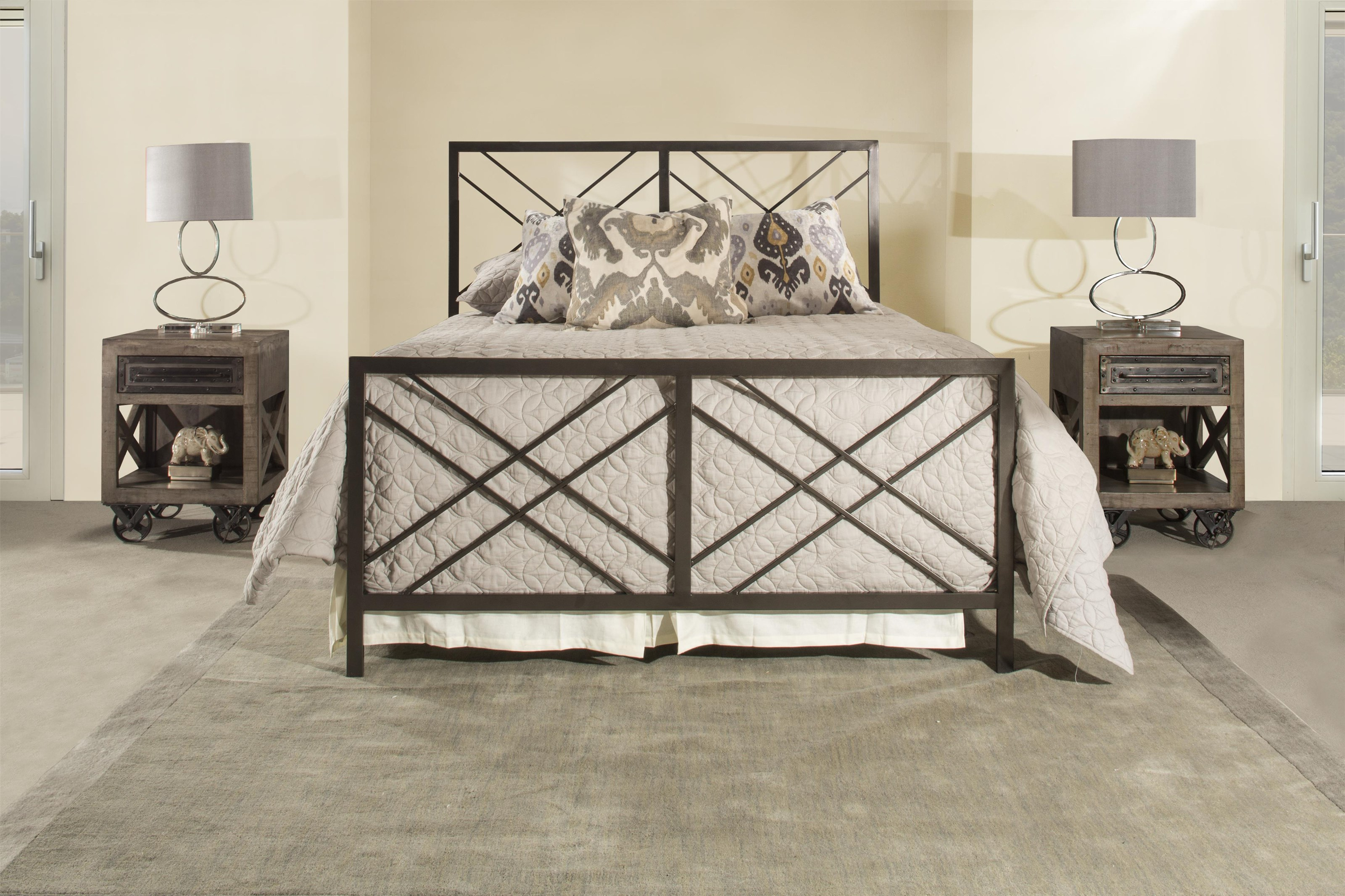 Westlake Full Metal Bed