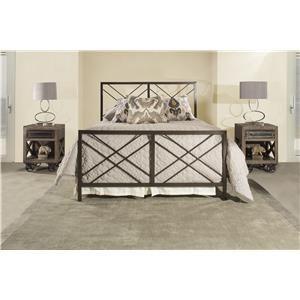Westlake Full Metal Bed