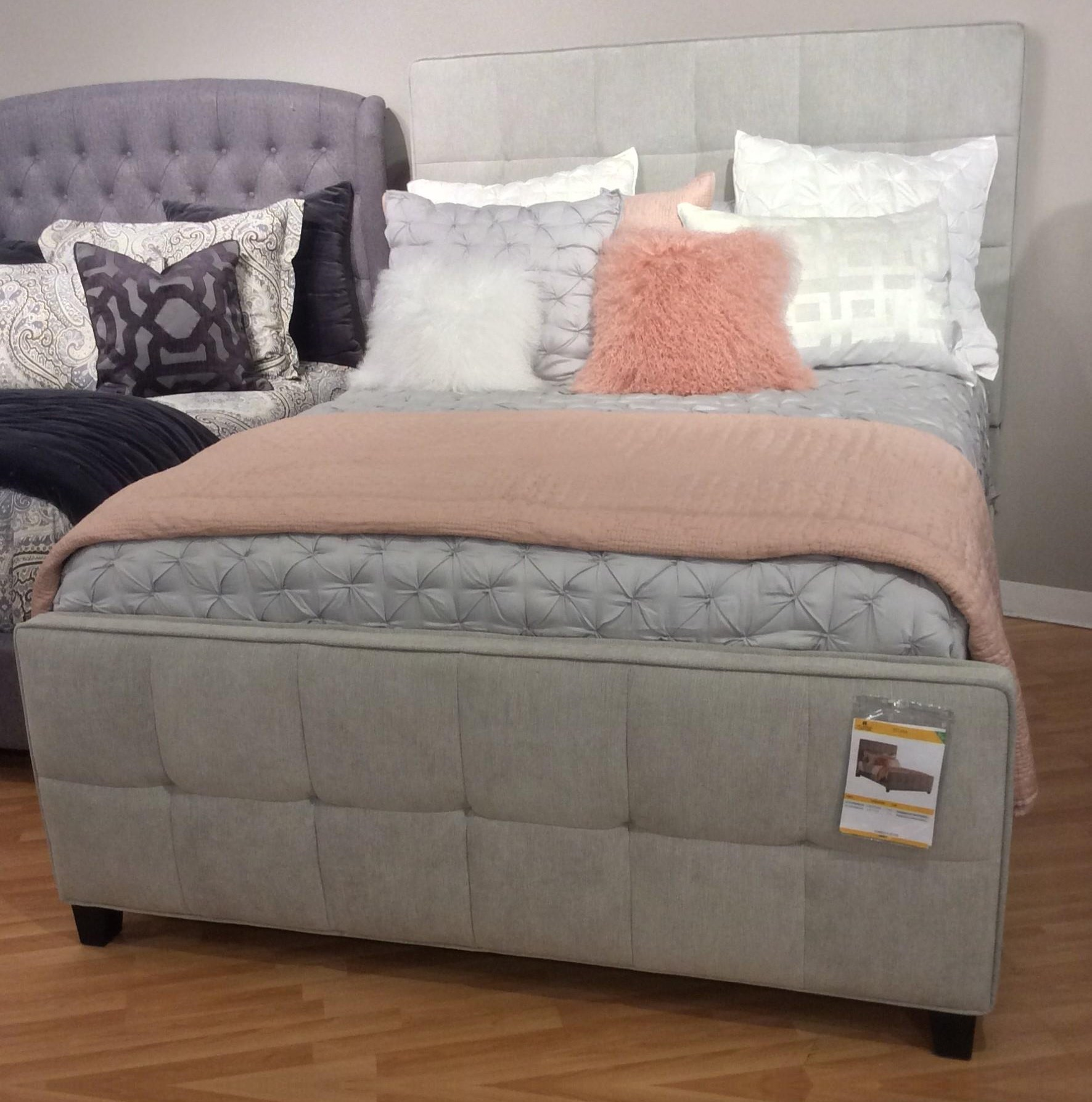 Hillsdale 2172 King Upholstered Bed - Item Number: 2172-670