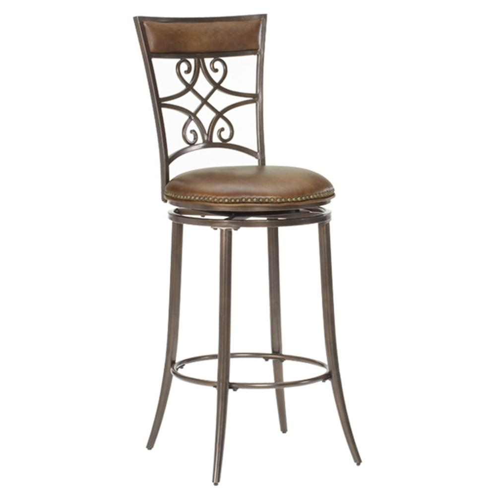 "Hillsdale Metal Stools 30"" Bar Height Seville Swivel Stool - Item Number: 4492-830"