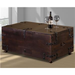 Morris Home Furnishings Accents Coffee Table Bar