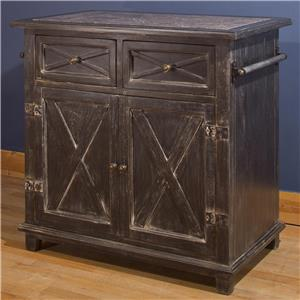 Hillsdale Accents X Design Kitchen Island