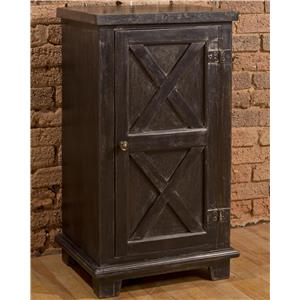 Morris Home Accents X Design One Door Cabinet
