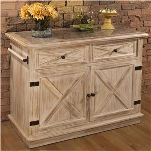 Morris Home Accents Kitchen Island