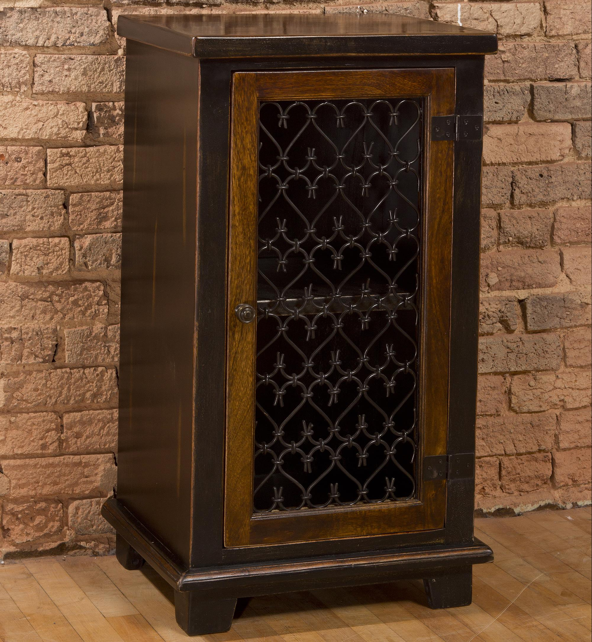 Hillsdale Accents Cabinet with Metal Insert Door - Item Number: 5731-893