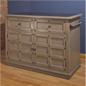 Hillsdale Accents Kitchen Island