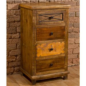 Morris Home Accents Four Drawer Cabinet
