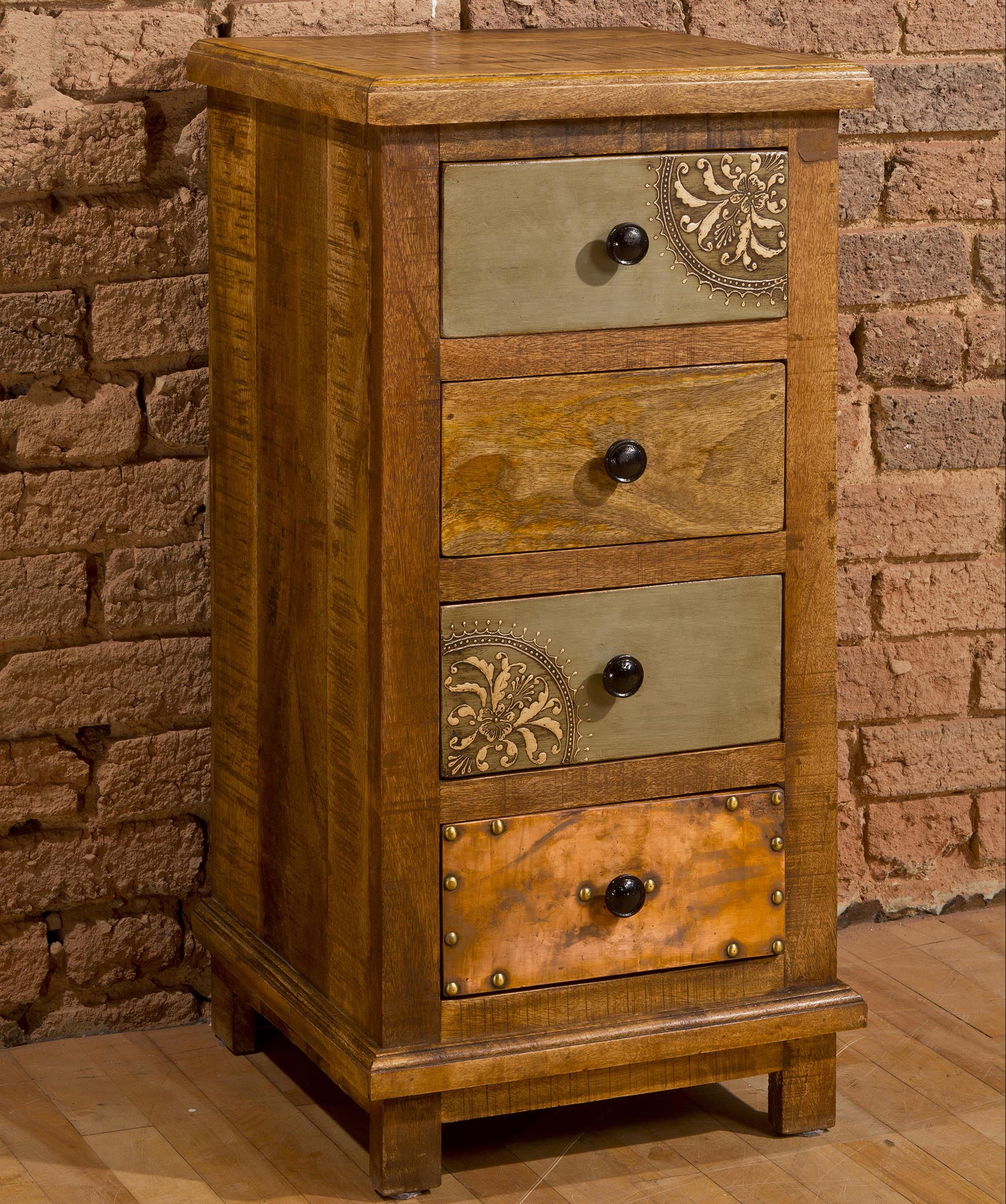 Hillsdale Accents Four Drawer Cabinet with X Design - Item Number: 5732-888