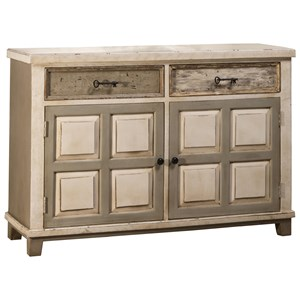 Morris Home Accents Console Table with Two Door Storage
