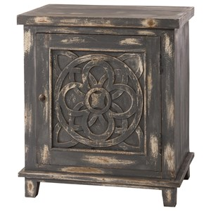 Morris Home Accents One Door Cabinet