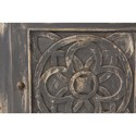 Morris Home Furnishings Accents One Door Cabinet  with Celtic Inspired Door Design