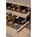Hillsdale Accents Vintage Gray Server with Wine Storage