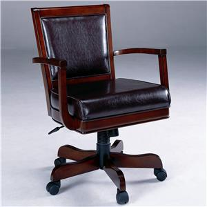 Morris Home Furnishings Ambassador Caster Game Chair