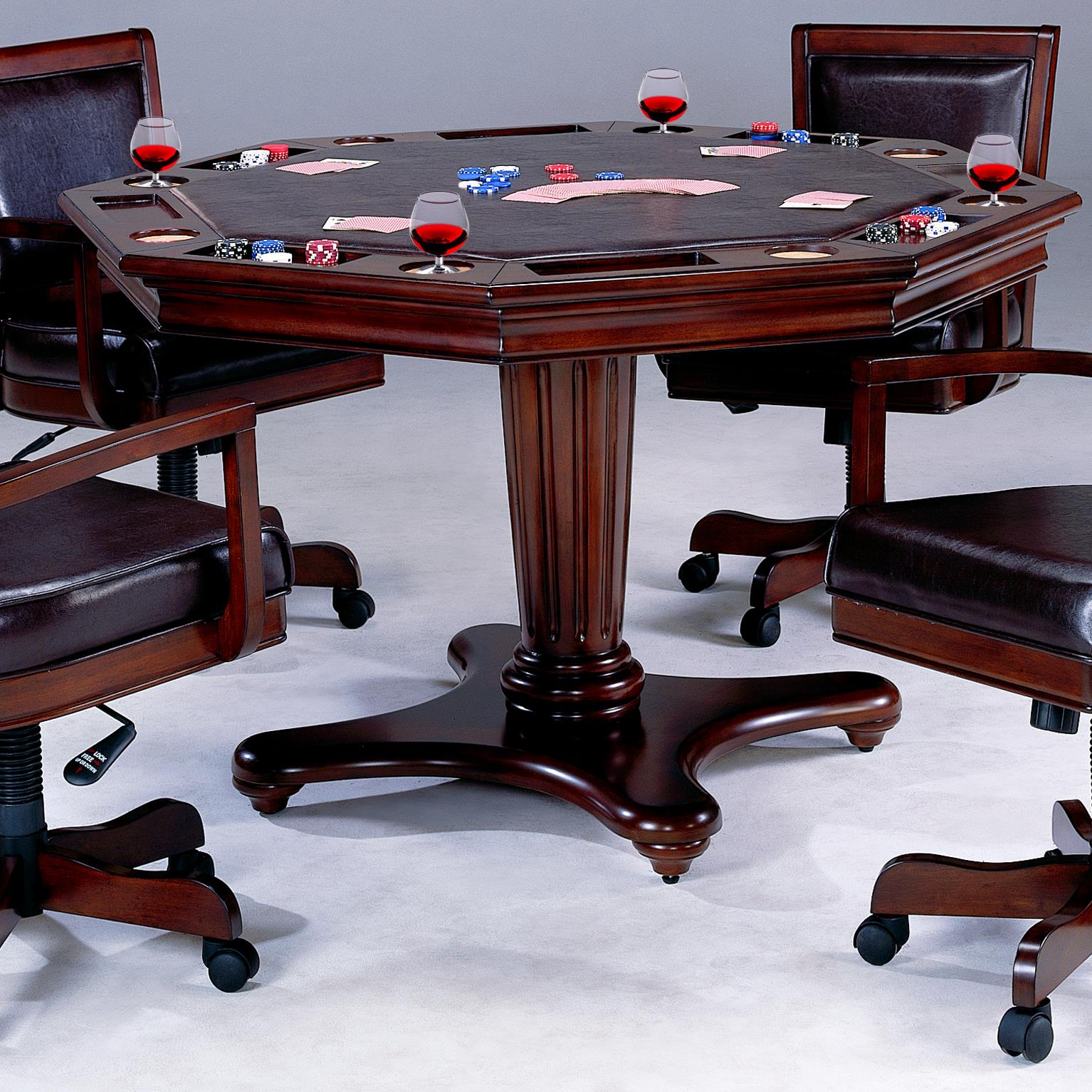 Hillsdale Ambassador 6124GTB Game Table With Separate