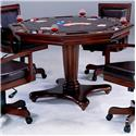 Hillsdale Ambassador Game Table with Separate Dining and Game Surfaces