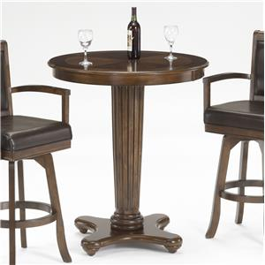 Morris Home Furnishings Ambassador Bar Height Table