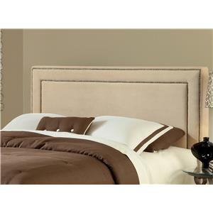 Hillsdale Amber Buckwheat King Headboard with Rail