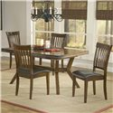 Hillsdale Arbor Hill Dining Side Chair - Shown with Coordinating Dining Table as Five Piece Set