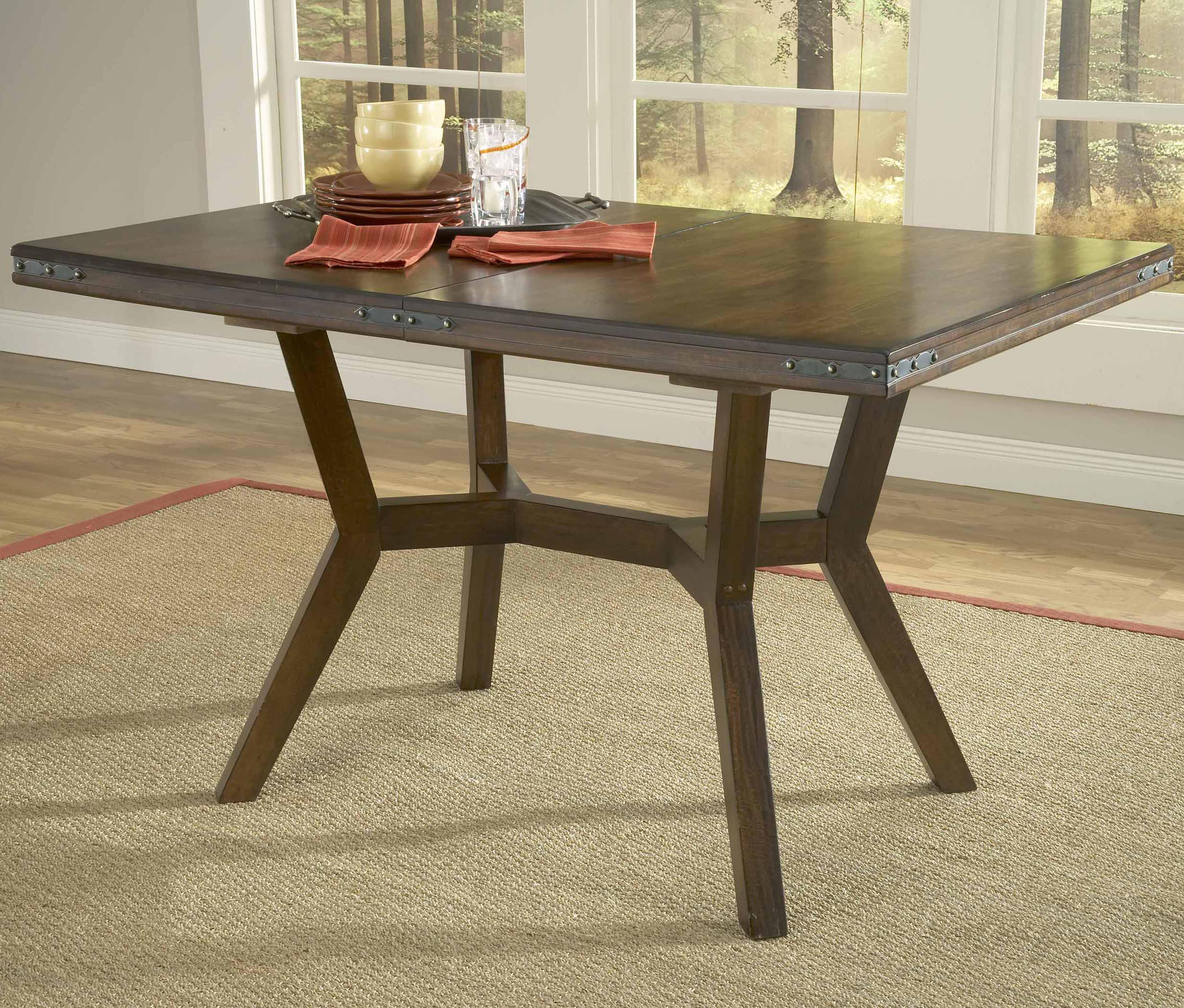 square extension dining table hillsdale arbor hill rectangular leg extension dining 5667