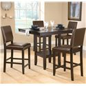 Hillsdale Arcadia Parson Counter Stool - Shown with Coordinating Gathering Table