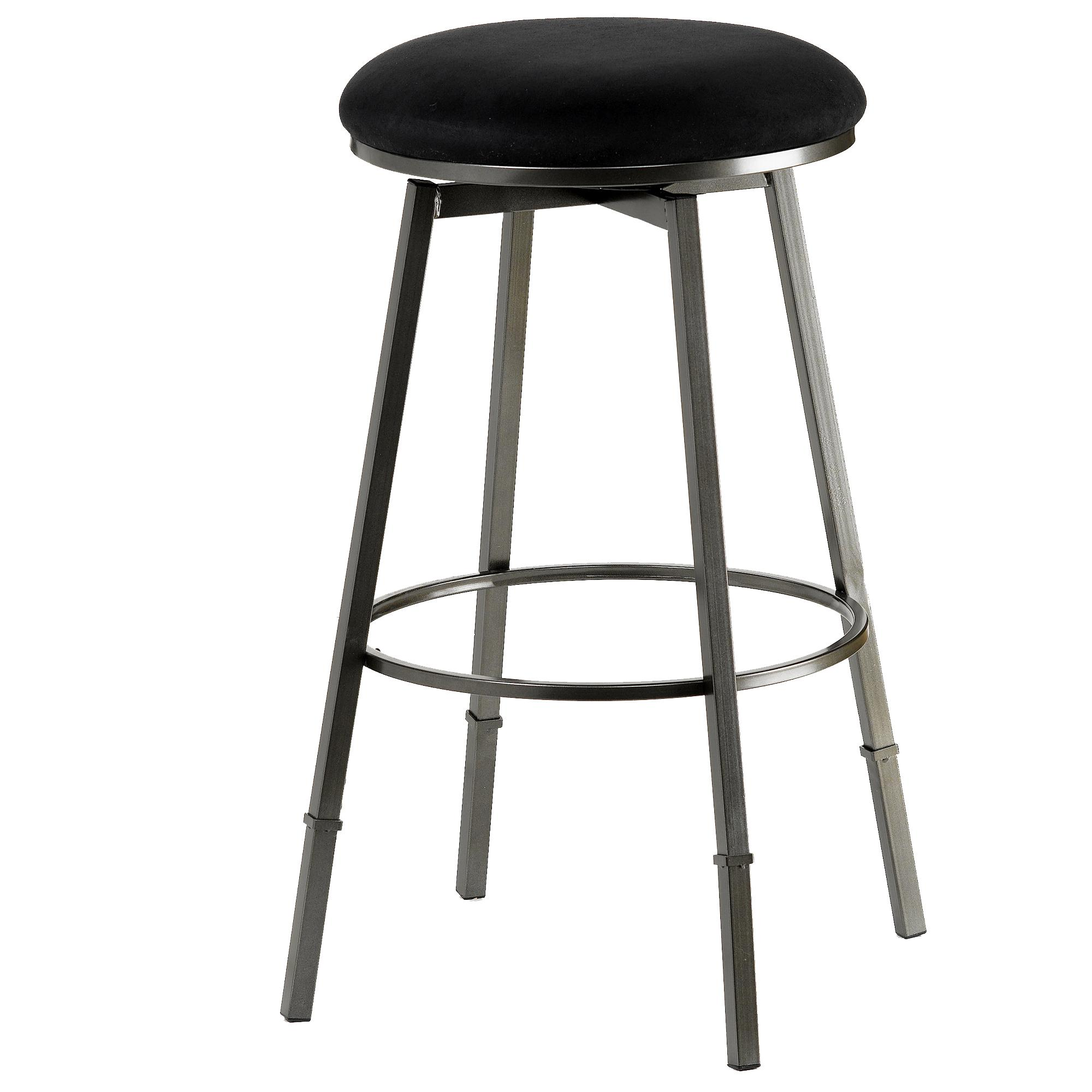 Hillsdale Backless Bar Stools Sanders Adjustable Backless Bar Stool - Item Number: 4150-831