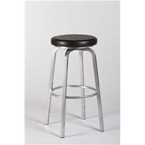 Morris Home Furnishings Backless Bar Stools Neeman Backless Counter/ Bar Stool