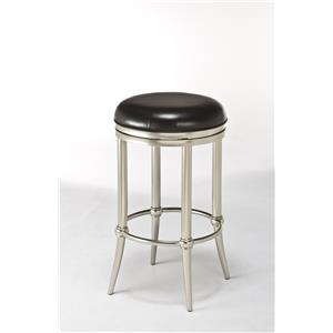 Morris Home Furnishings Backless Bar Stools Cadman Backless Counter Stool
