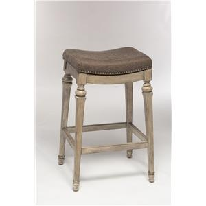 Morris Home Backless Bar Stools Backless Non-Swivel Bar Stool