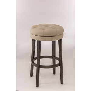 Hillsdale Backless Bar Stools Backless Swivel Counter Stool