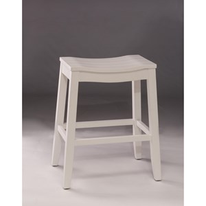 Morris Home Backless Bar Stools Backless Non-Swivel Counter Stool