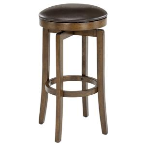 "Morris Home Furnishings Backless Bar Stools 25"" Brendan Backless Counter Stool"