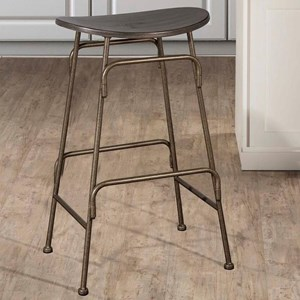 Morris Home Metal Stools Counter Height Stool