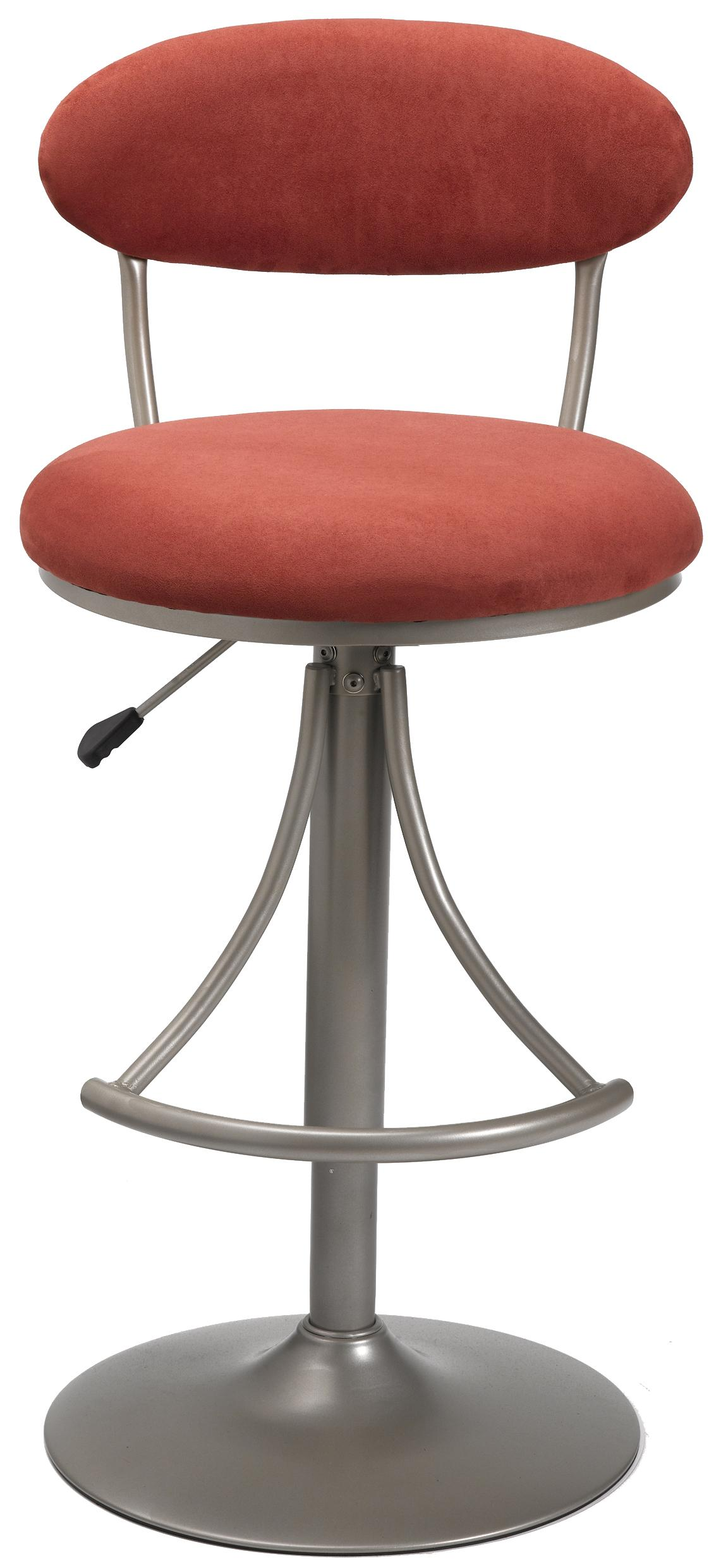 Hillsdale Metal Stools Adjustable Height Venus Swivel Stool - Item Number: 4210-825
