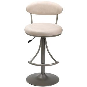 Morris Home Metal Stools Adjustable Height Venus Swivel Stool
